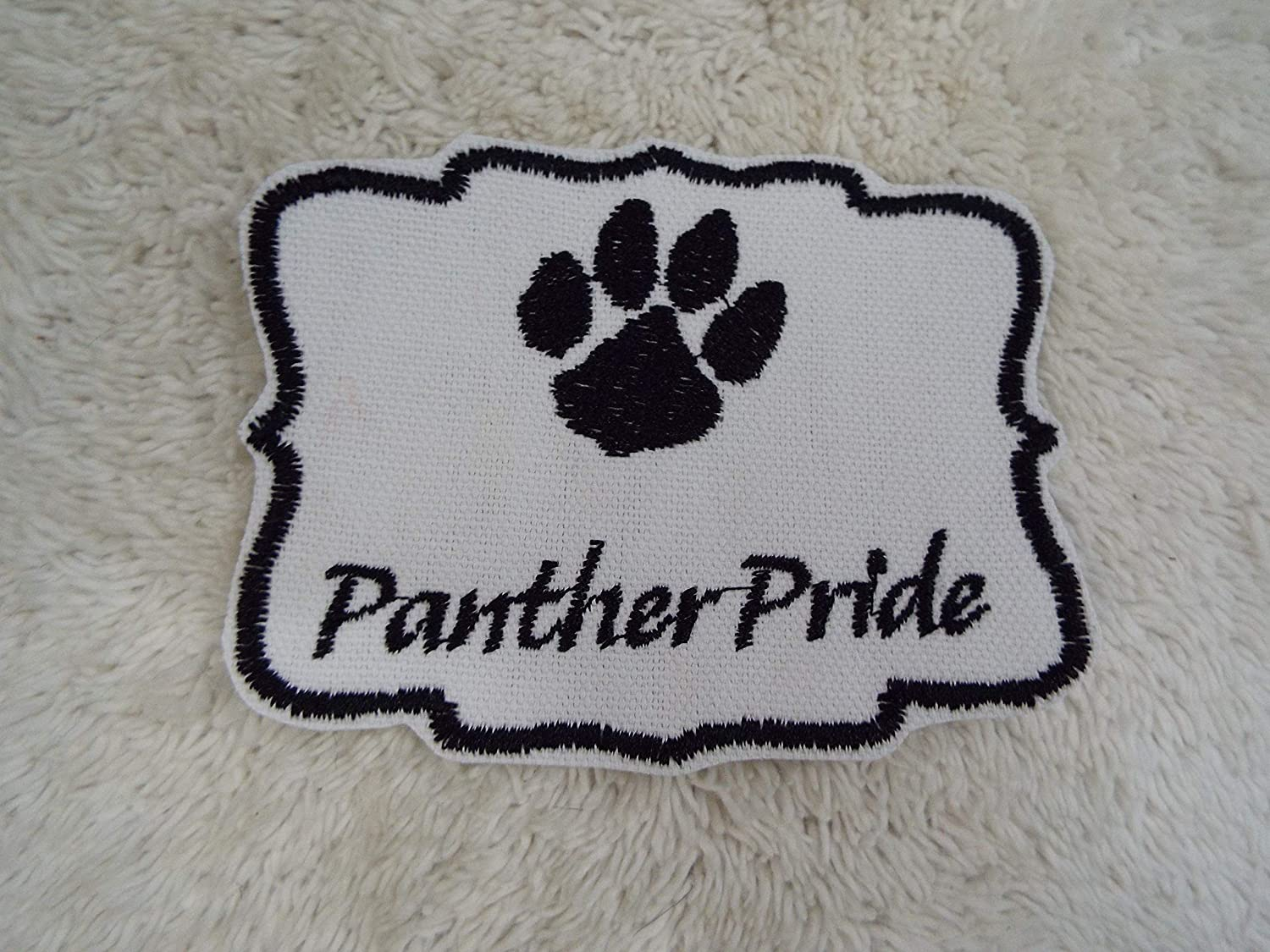PANTHER Pride Embroidered Iron-on Patch