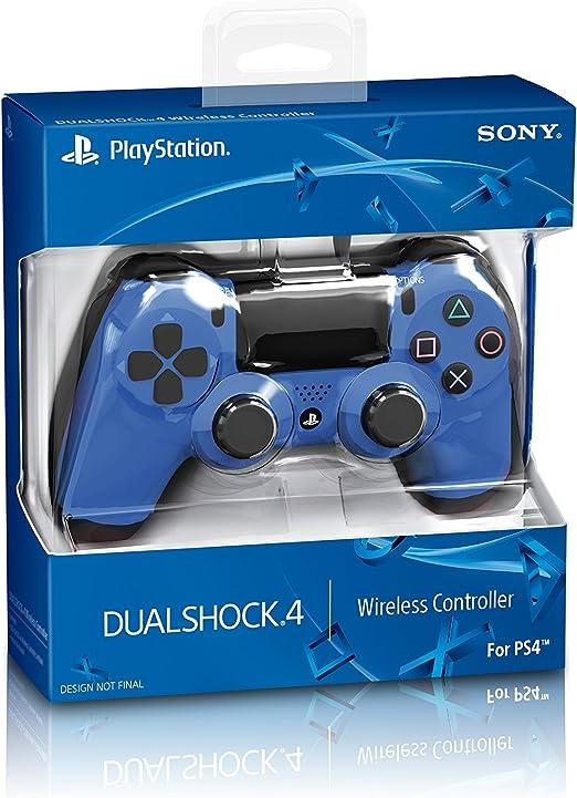 Sony - Mando DualShock 4, Color Azul (PlayStation 4): Amazon.es: Videojuegos