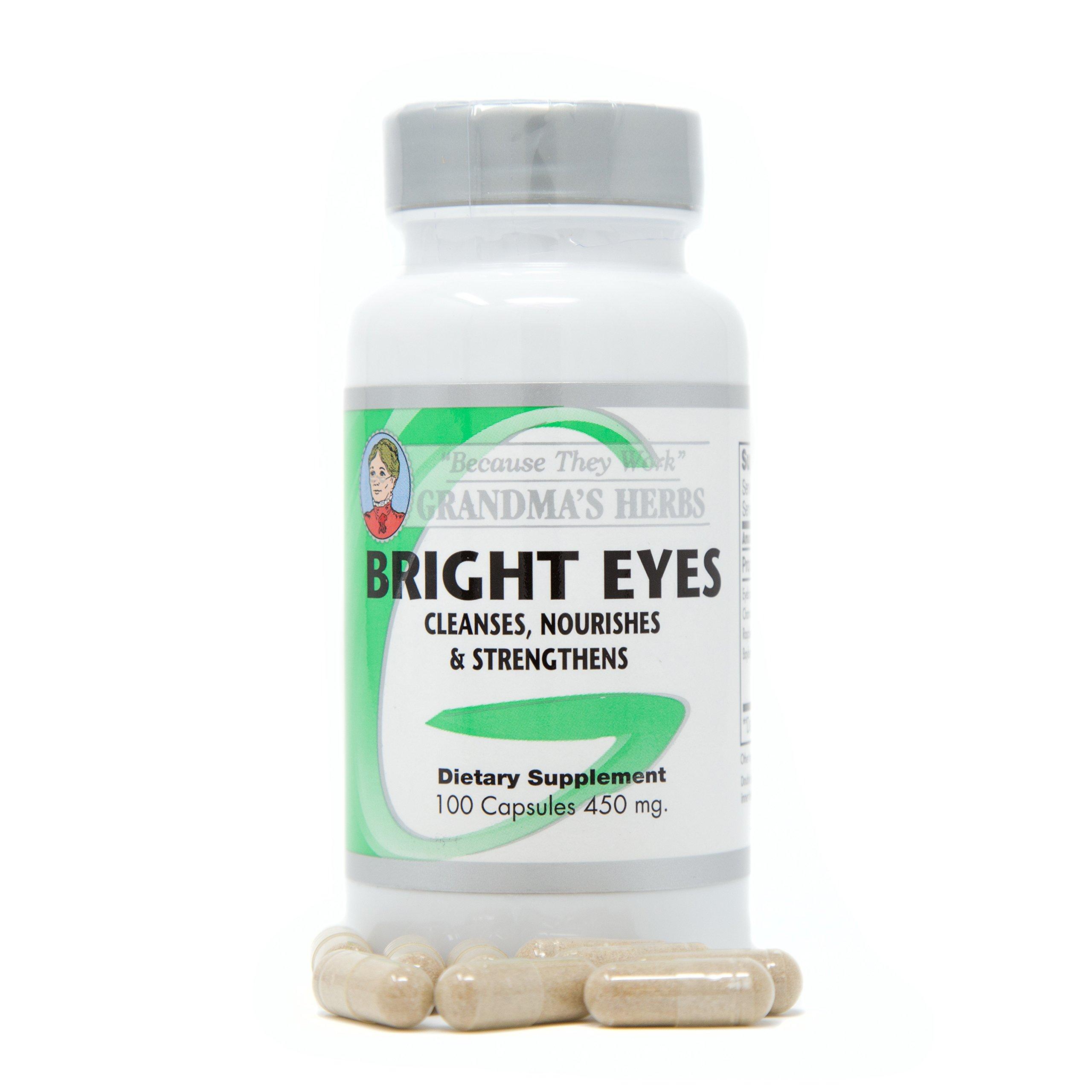 Bright Eyes - All Natural Vision Enhancer - 100 Capsules (1)