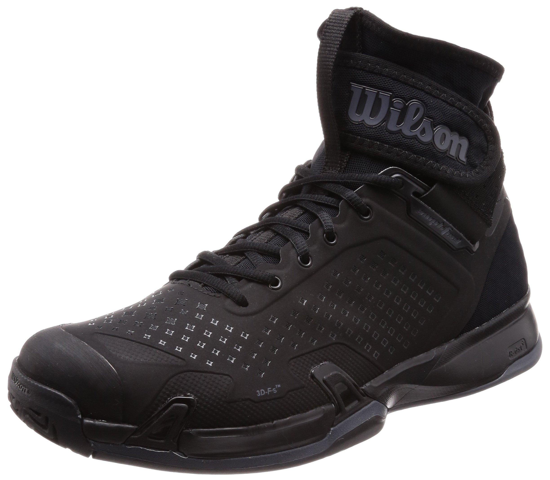 Wilson AMPLIFEEL Black Tennis Shoe (M10.5_W12)