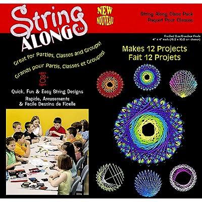 Janlynn String Art Classroom Pack, 4 X 4 in: Industrial & Scientific