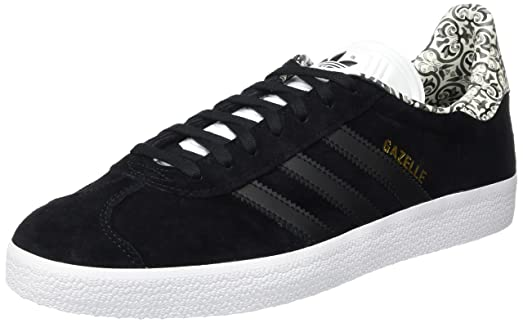adidas Gazelle Womens Trainers Black - 7 UK