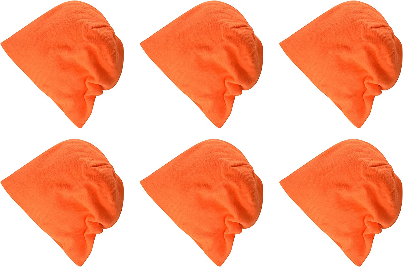 Clementine Apparel Mens Clm-sm-dt618-slouch Beanie 6 Pk