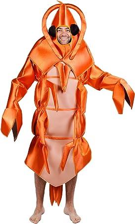 Disfraz de gamba - Estándar: Amazon.es: Juguetes y juegos