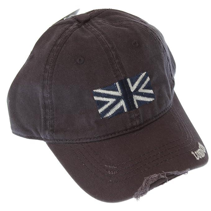 Amazon.com: Gorra de béisbol diseño de Londres Union Jack ...