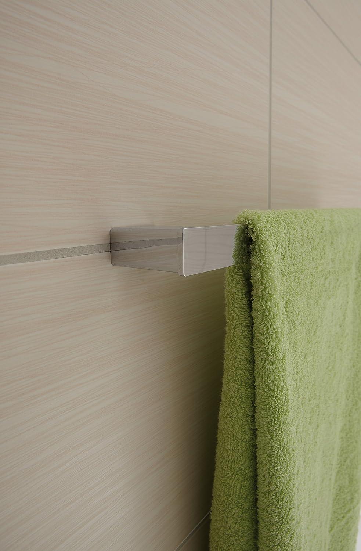 Emco Loft Badetuchhalter chrom Handtuchhalterung zur Wandmontage Handtuchständer Länge 842 mm