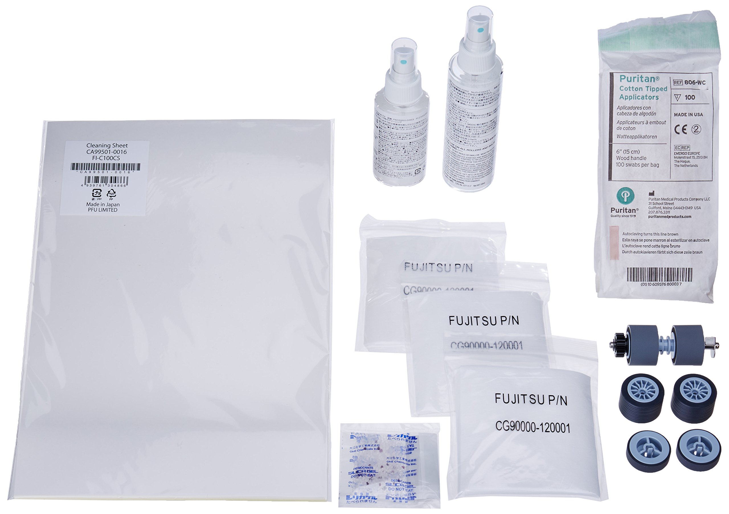 Scanaid Cleaning Consumable Kit for FI5900C