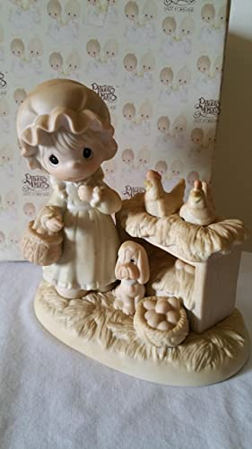 Precious Moments It s No Yolk When I Say I Love You Porcelain Figurine
