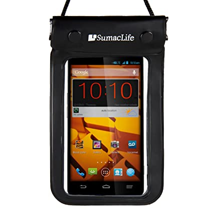 SumacLife Waterproof Bag Dry Pouch Case for Motorola Droid Maxx 2 / Motorola Droid Turbo 2