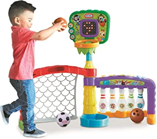 product image for Little Tikes 3-in-1 Sports Zone Baby Toy, Infant Toy