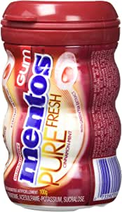 Mentos Pure Fresh Gum, Cinnamon, Pack of 6