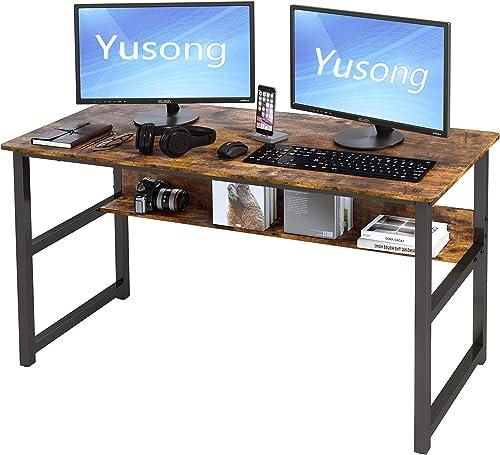 Cheap Yusong 55'' Modern Simple Computer Desk modern office desk for sale