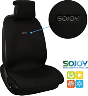 Sojoy IsoTowel Car Seat Cover Microfiber Protector With Quick Dry No