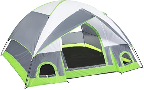 Best Choice Products 4 Person Camping Tent Family Outdoor Sleeping Dome Water Resistant W Carry Bag