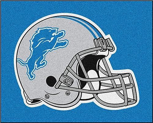 FANMATS NFL Detroit Lions Nylon Face Tailgater Rug