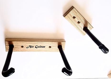 Soporte horizontal de pared para guitarra