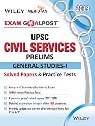 Wiley's Exam Goalpost UPSC Civil Services Prelims General Studies-I Solved Papers and Practice Tests, 2019