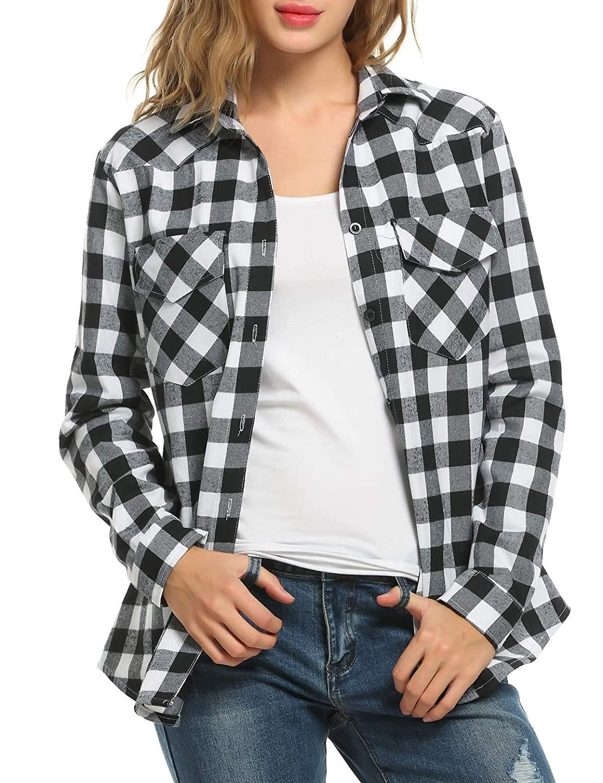 TALLA XXL. Soteer Camisas - Manga Larga - para Mujer