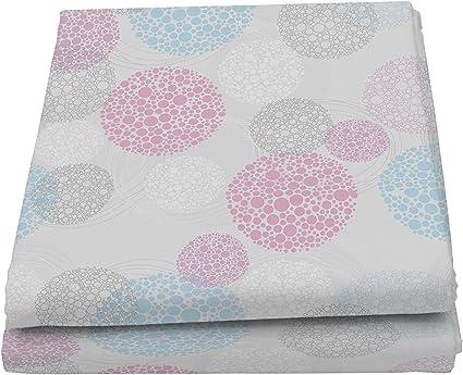 Microfibra Italian Bed Linen Fantasy Vortex Telo Copritutto Stampato 2 Posti Multicolore 270 x 280 cm