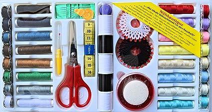 Ze - Set de costura (149 piezas, con accesorios para máquina de coser)