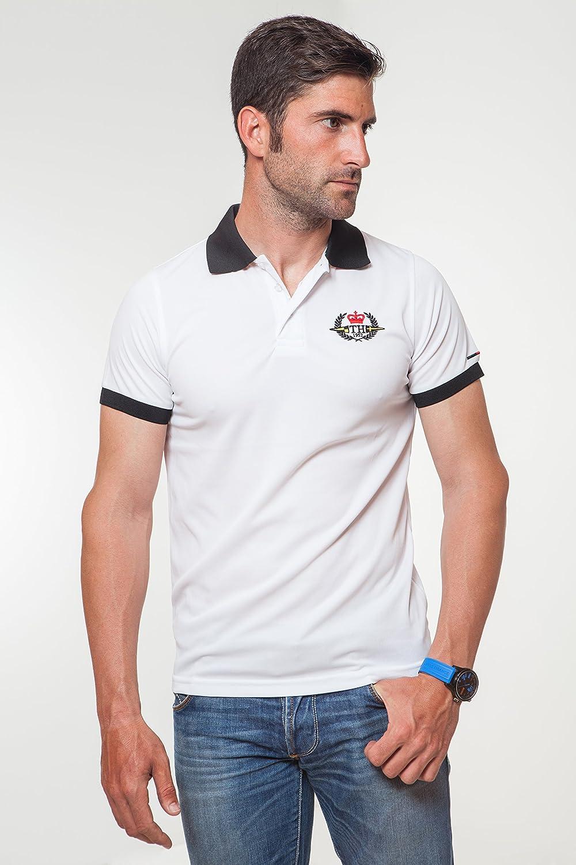 TH Hottime - Polo técnico, talla l, color blanco: Amazon.es: Ropa ...