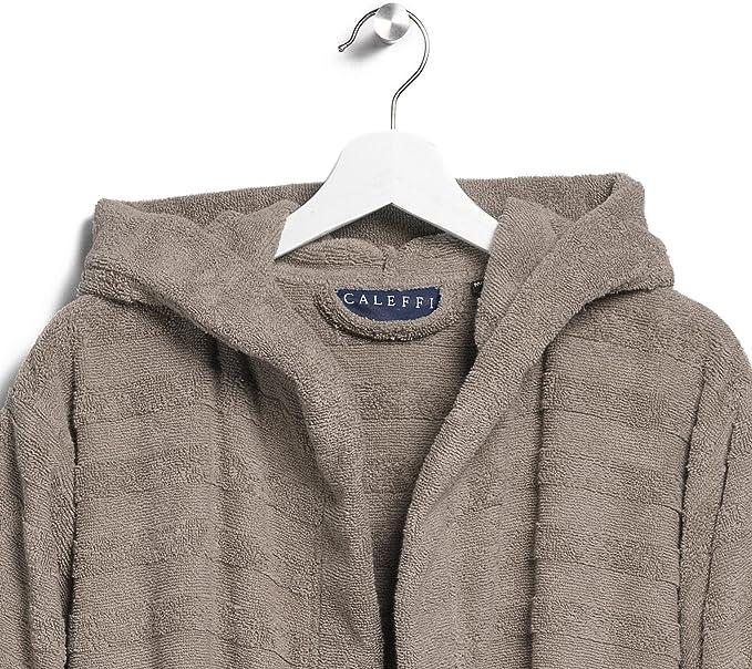 Accappatoio con cappuccio modello Cotton in spugna di puro cotone idrofilo