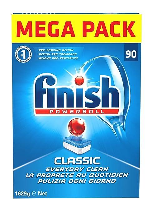 49 opinioni per Finish Classic Detergente 90 Tabs, Regular, 1629 gr