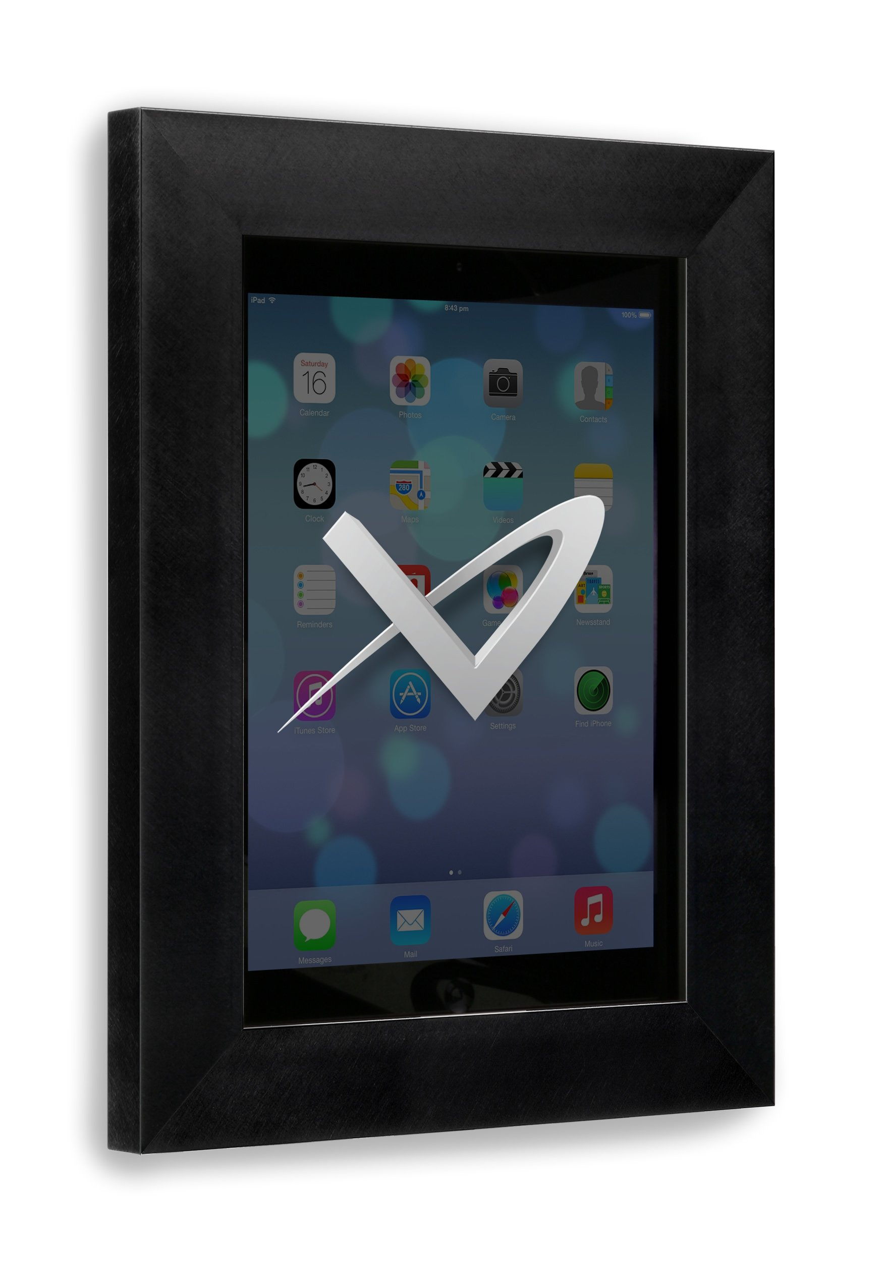 VidaMount iPad (5th Gen) 9.7/Pro Air 1/2 On Wall Metal Frame - Florentine Black