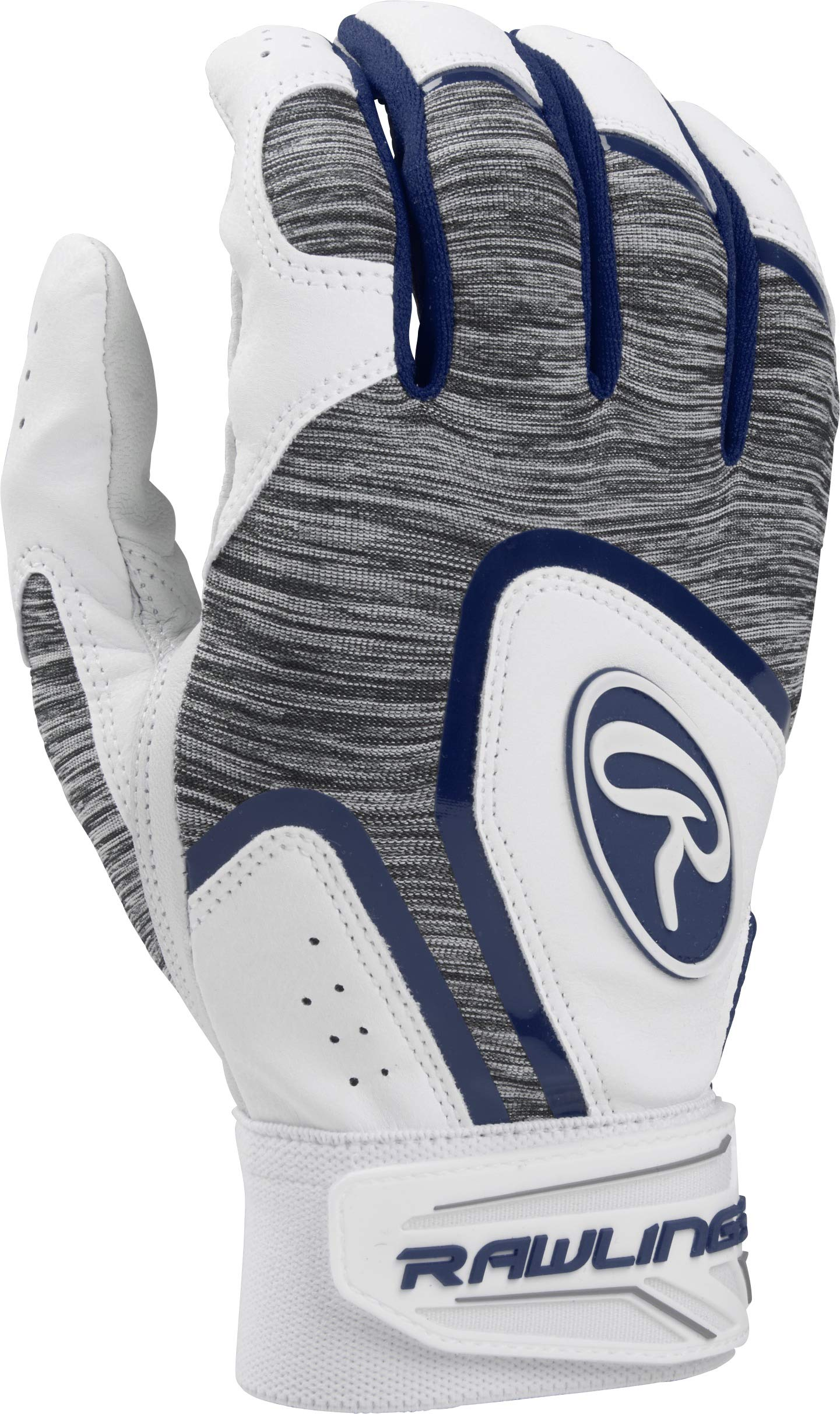 Rawlings 5150WBG-N-90 Rawlngs 5150 Batting Gloves, Navy by Rawlings