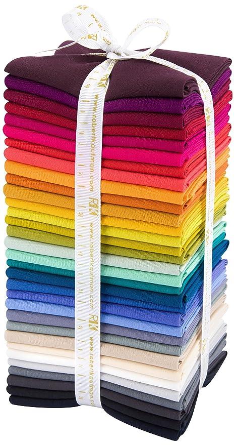 Nueva Kona algodón sólidos Anita Grossman Salomón simplificarlo paleta 32 Fat Quarter – Lote de Robert