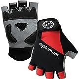 Optimum Men's Cycling Fingerless Gloves