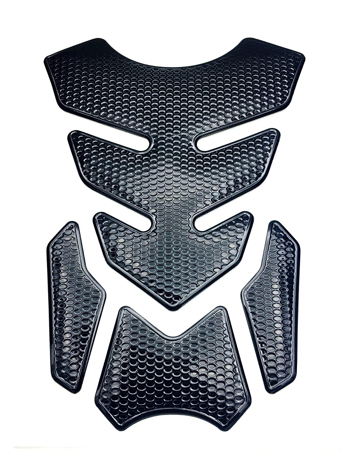 Niree Motorcycle Tank Gas Metallic Luster Protector Pad Sticker Decal for Yamaha MT-10 FJ-09//MT-09 Tracer C08#