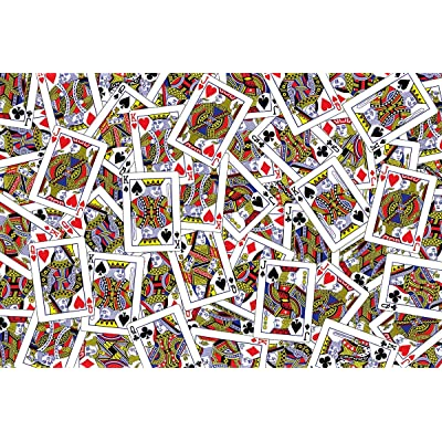 Lafayette Puzzle Factory House of Cards 100 Piece High Difficulty Jigsaw Puzzle: Toys & Games
