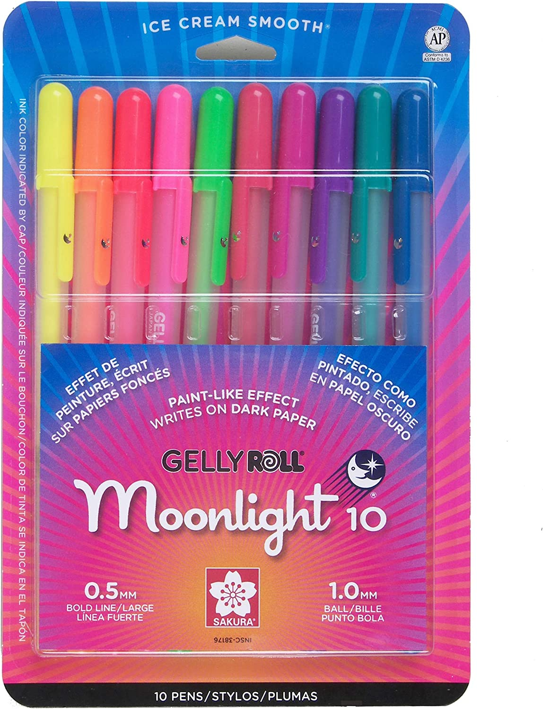 Sakura Silver Shadow Gelly Roll Gel Pen 1.0mm Tip Size Choose Color