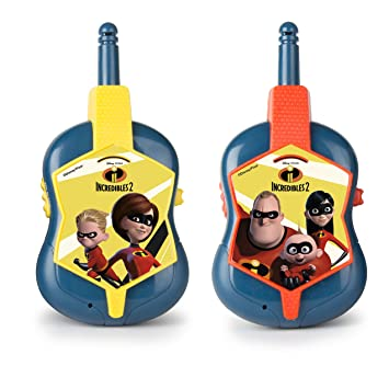 Increibles- Walkie Talkie (IMC Toys 500099)