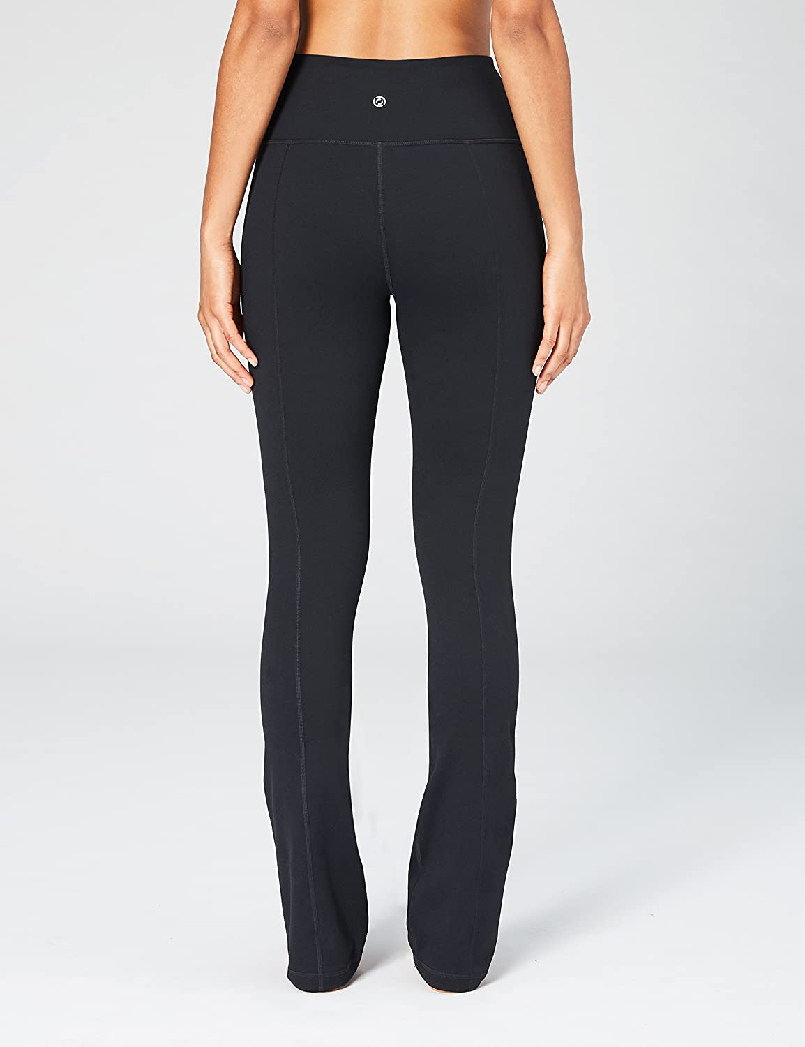 Amazon Brand - Core 10 Women's (XS-3X) 'Build Your Own' Yoga Straight Pant, Inseams Available