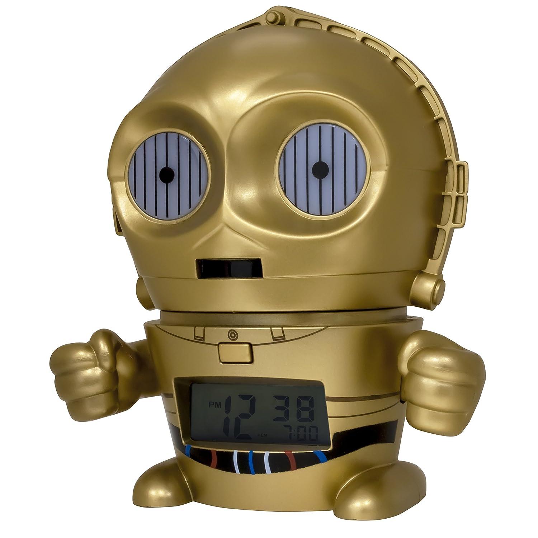 Bulb Botz 2021418 Star Wars C3PO Night Light Alarm Clock BULBBOTZ Accessory Consumer Accessories