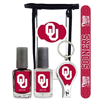 Amazon.com: Oklahoma Sooners manipedi Kit con Nail Clipper ...
