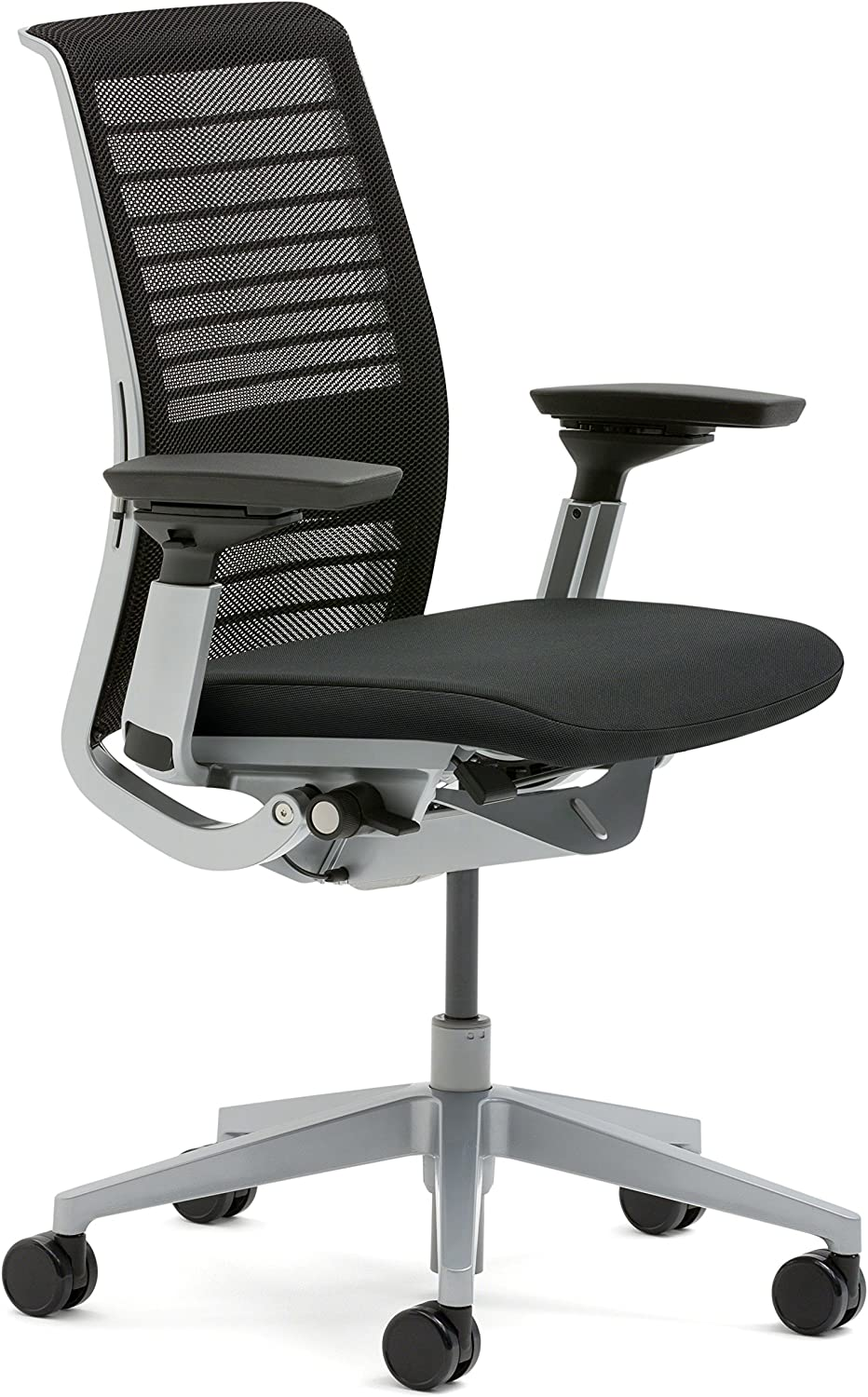 Steelcase 3D Knit Think Chair, Licorice
