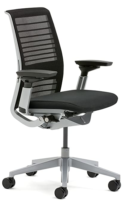 Steelcase Think Office Chair Personality Image Unavailable Amazoncom Amazoncom Steelcase 3d Knit Think Chair Licorice Kitchen Dining