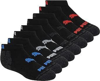 PUMA 8 Pack Low Cut Socks, black
