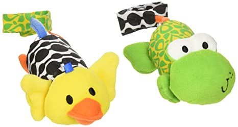 Infantino Tag Along Chimes Duck Frog