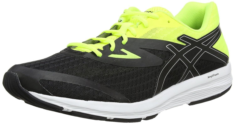 Asics Amplica, Zapatillas de Running Para Hombre 40 EU Negro (Blacksilversafety Yellow 9093)