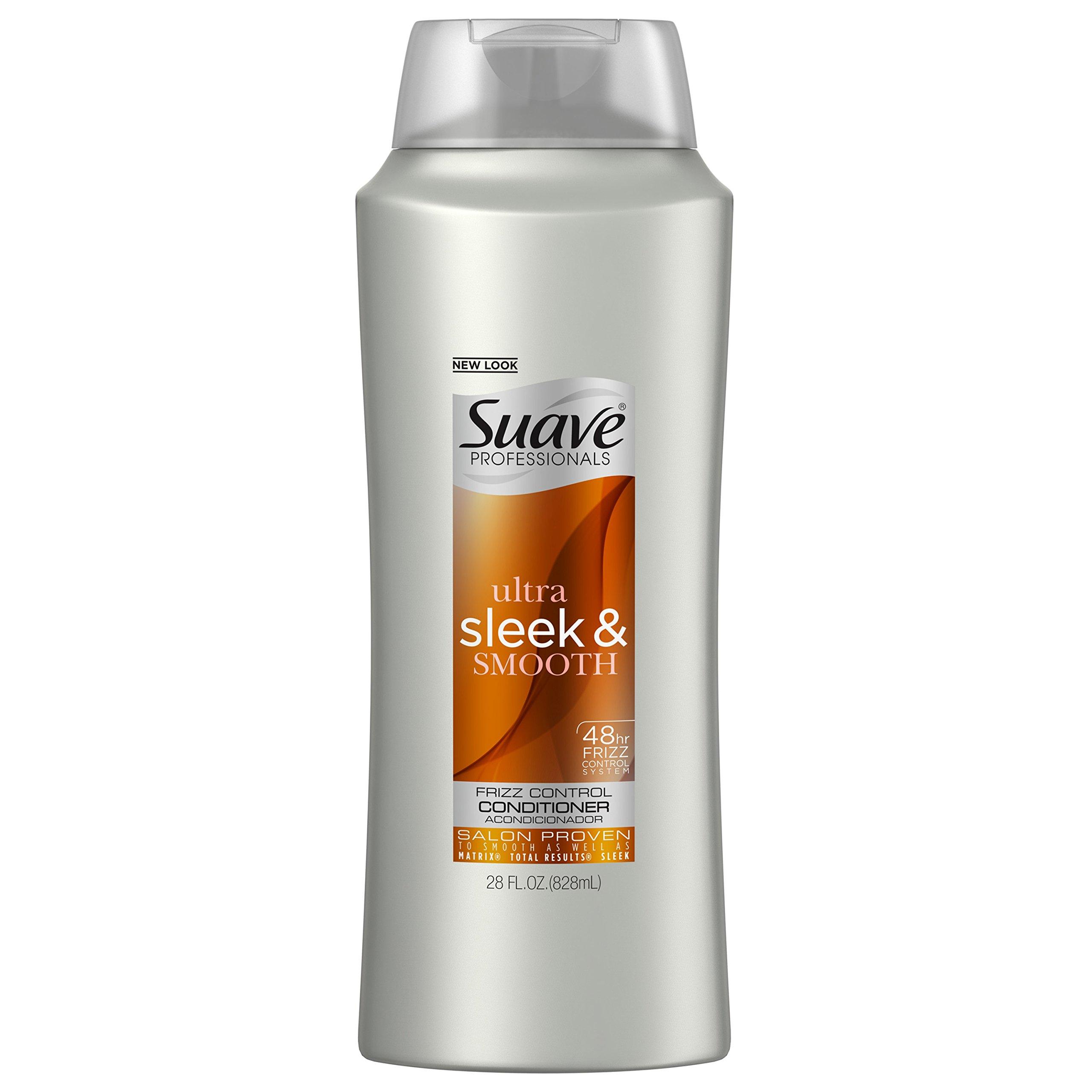 Suave Professionals Conditioner, Sleek, 28 oz