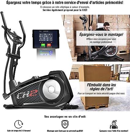 Sportstech CX2 - Bicicleta elíptica (Calidad Alemana, vídeo en ...