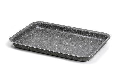 Bialetti Trudi R-Bandeja para Horno Aluminio, Color Gris, Aluminio, Gris,