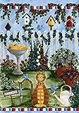 Toland Home Garden  Cats Garden 28 x 40-Inch Decorative USA-Produced House Flag