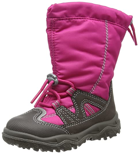 Superfit Schnee Stiefel Mädchen grau Stone Stern pink Tex