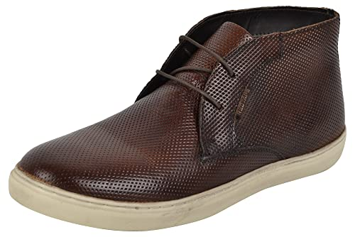 Red Tape Men's Leather Chukka Boots Men's Boots at amazon
