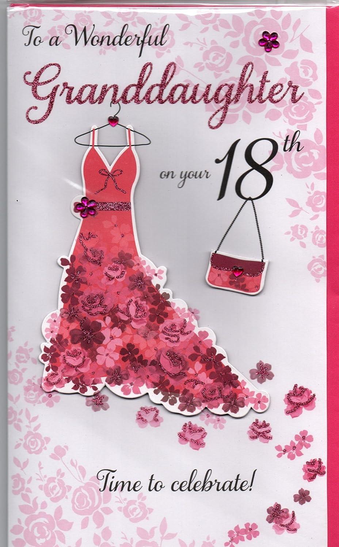 Granddaughter 18th Birthday Card Gallery Birthday Cards Design
